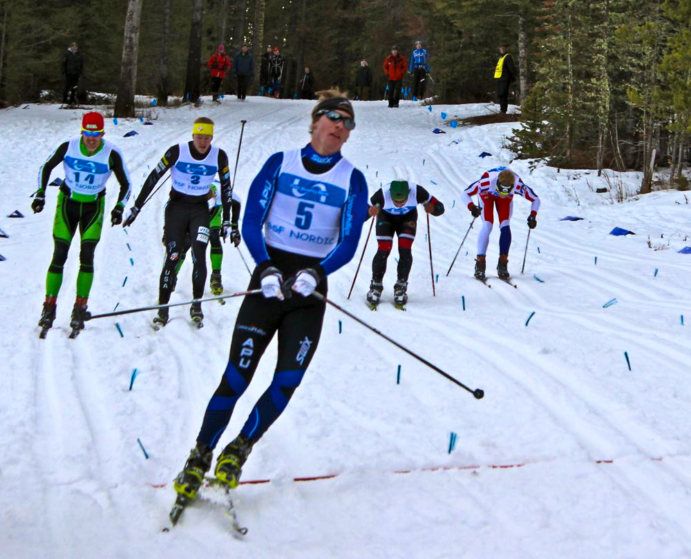 Reese takes the win in the A-final! (Fasterskier.com photo)