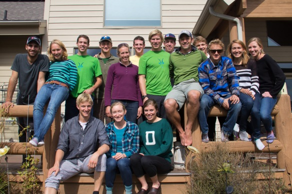 Rosie Brennan hosted a Dartmouth Homecoming reunion at her house in Park City.  Lots of Dartmouth alums are skiing at a really high level right now!