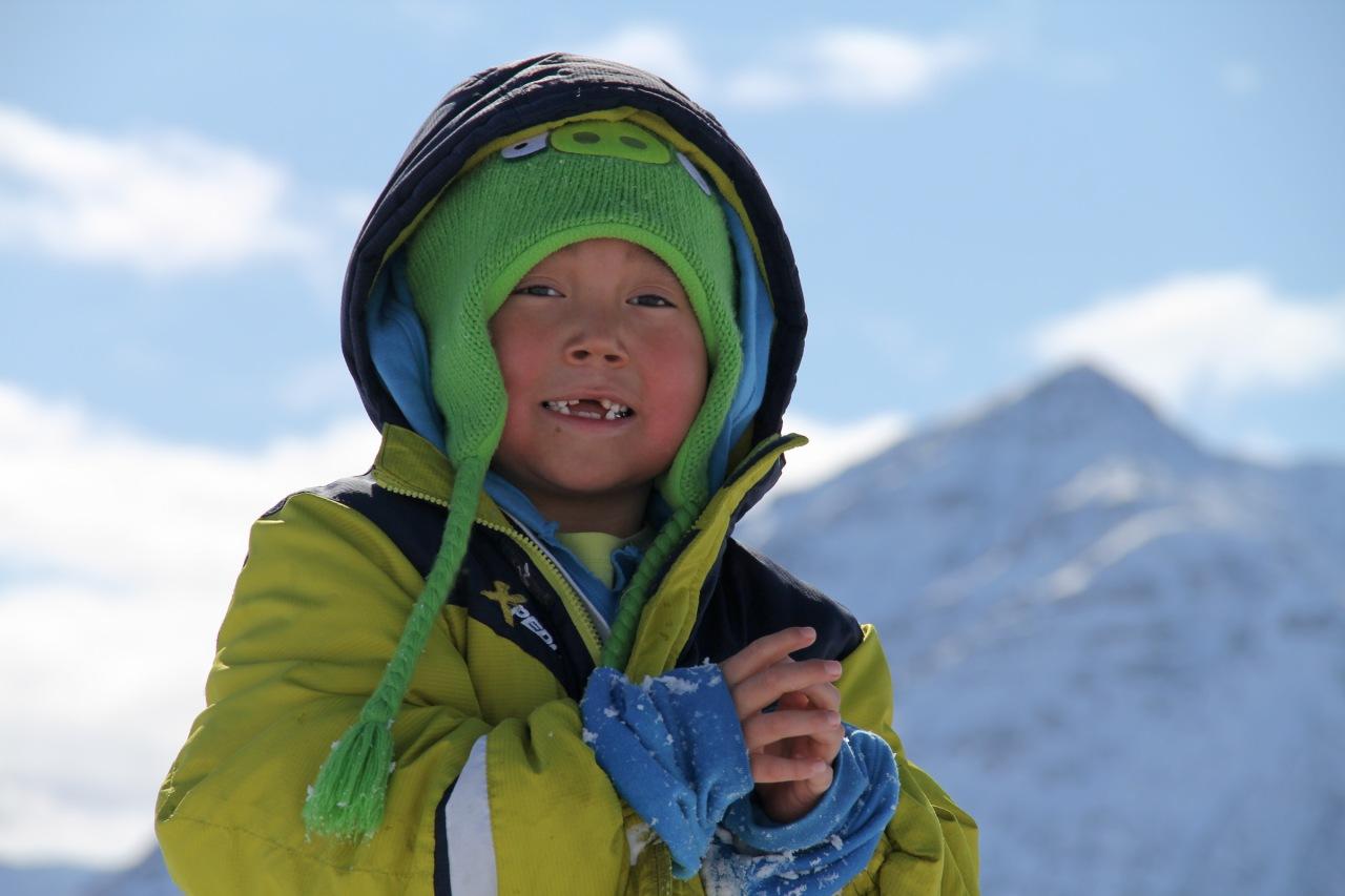 A happy skier!