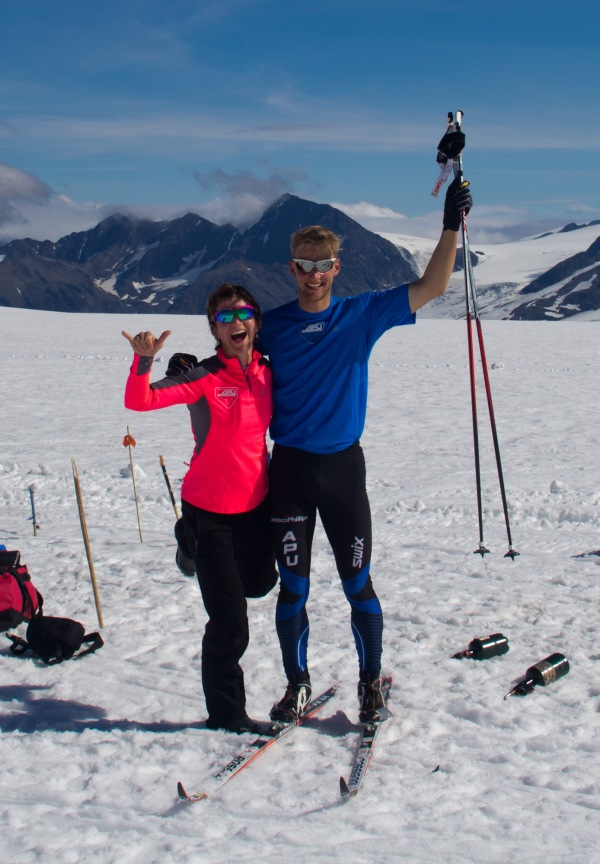 Big thanks to Zuzana Rogers for coming up to the July glacier camp and keeping us all working.